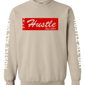 Rakz san hustle all day crew neck