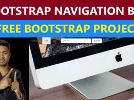 bootstrap-navigation-bar