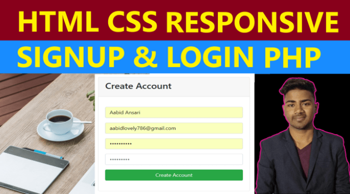 php-signup-login-page