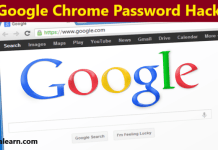 google chrome password hack