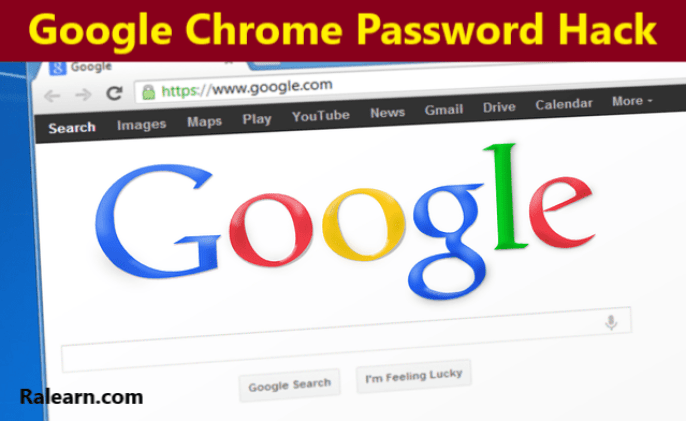 google chrome password hack