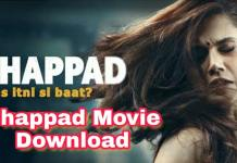 Thappad full movie download