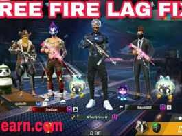 free fire lag fix