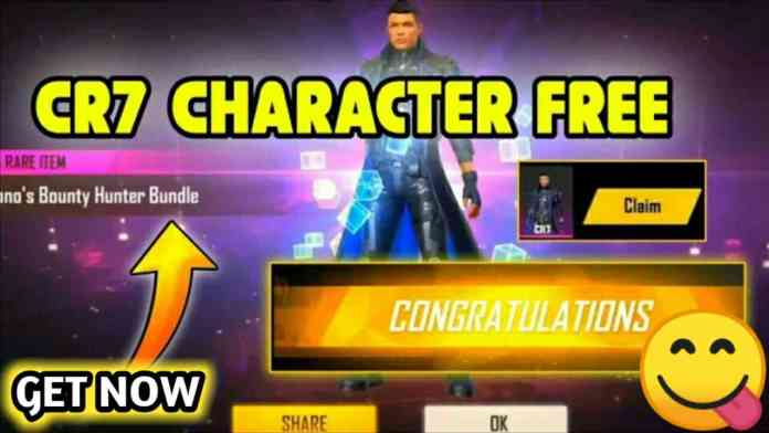 Free Fire Me Chrono Character Free