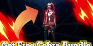 Cobra Bundle Get Free In Free Fire VIP Glitch File Download