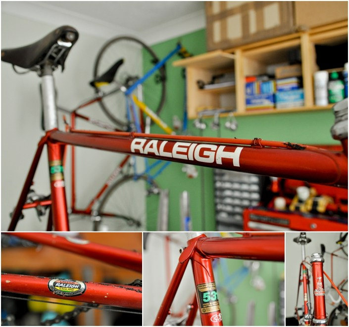 Raleigh SBDU Ilkeston Randonneur 531 1985 SB7660 Decals