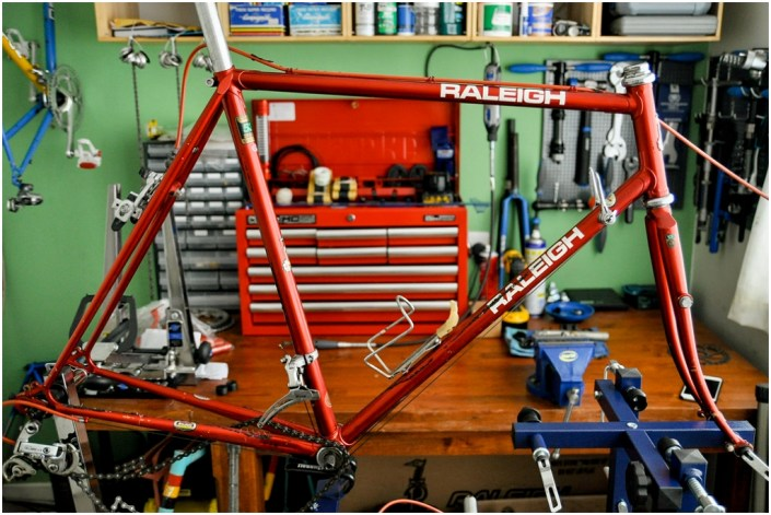 Raleigh SBDU Ilkeston Randonneur 531 1985 SB7660 Frame set