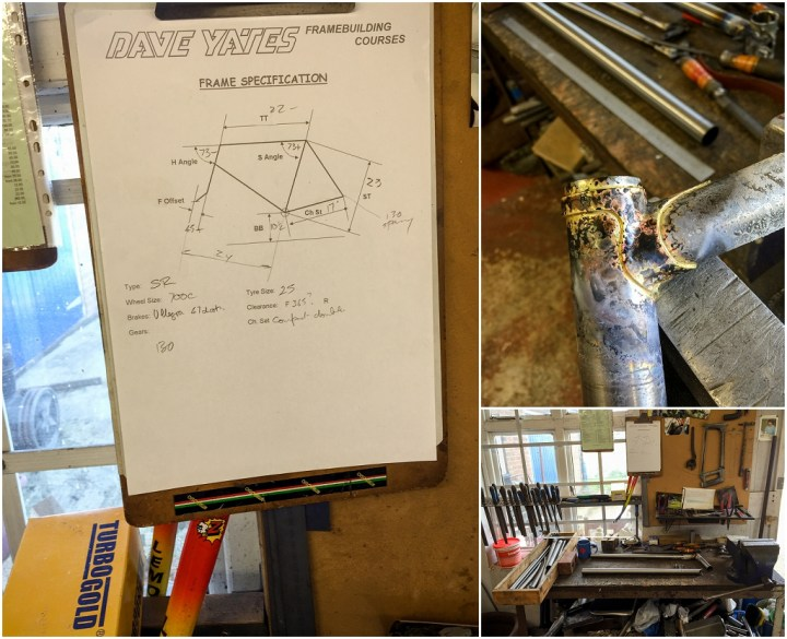 Dave Yates Frame Building Course Day 2 Start