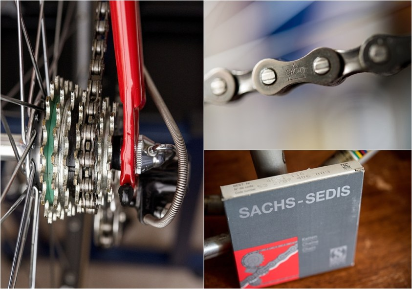 TI-Raleigh 1980 Team Bike Specification SBDU SB4059 Maillard Compact Sedis Chain