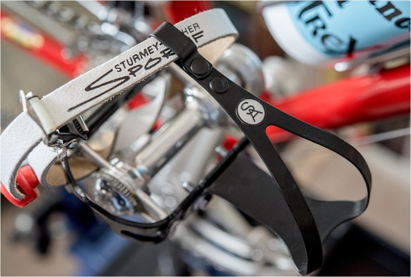 SB4059 TI-Raleigh SBDU Ilkeston Team Pro 753 Sturmey Archer Sportif Toe Straps and Clips