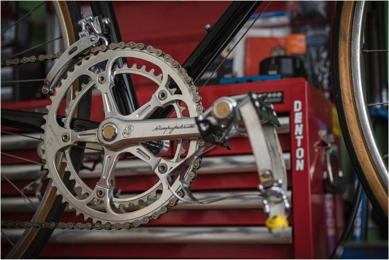 SB6398 SBDU Ilkeston Reynolds 753R Campagnolo Super Record 50th Anniversary Chainset