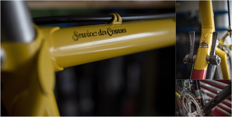 SB8868 SBDU Nottingham Reynolds 753R Raleigh Banana Dura-Ace 7402 Services des Courses