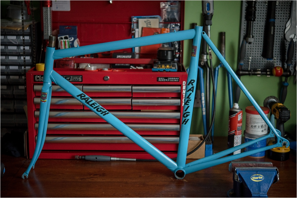 SBDU Ilkeston Special 753 Dynaflite SB4409 1981 (Reynolds 753 Fillet Brazed with Ovoid Tubing)