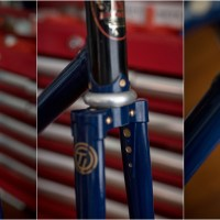 SBDU Ilkeston Reynolds 753 Raleigh Pursuit Frame SH377T - Cleaned and Documented