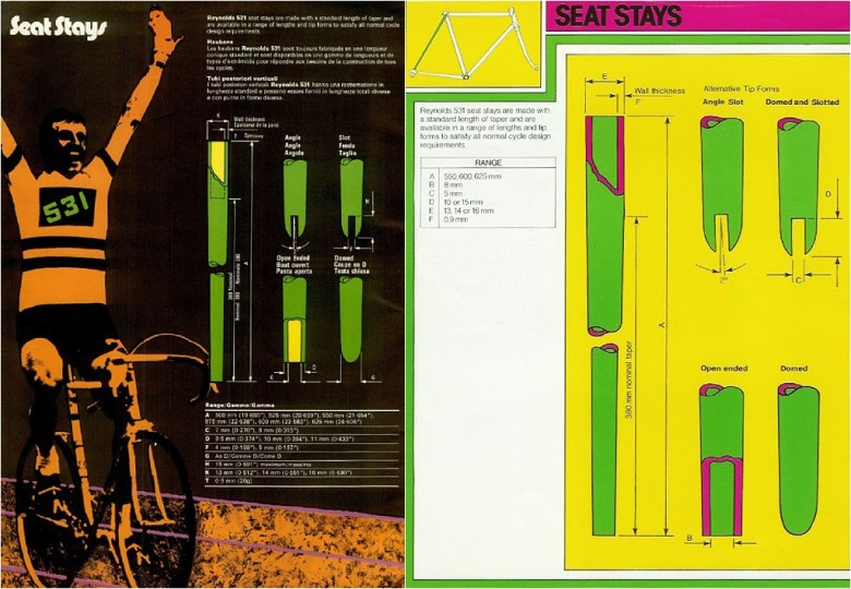 Specialist Bicycle Development Unit (SBDU) Seat Stay Design