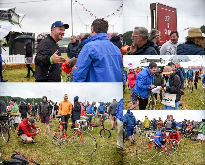 Eroica Britannia 2018 My TI-Raleigh SBDU Show Day Best Preserved Entries