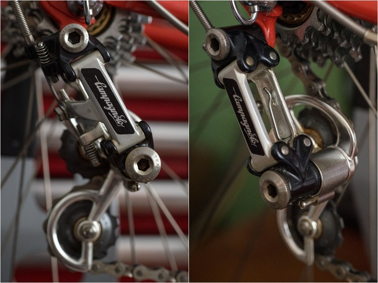 Campagnolo Super Record No PAT Marking Rear Derailleur