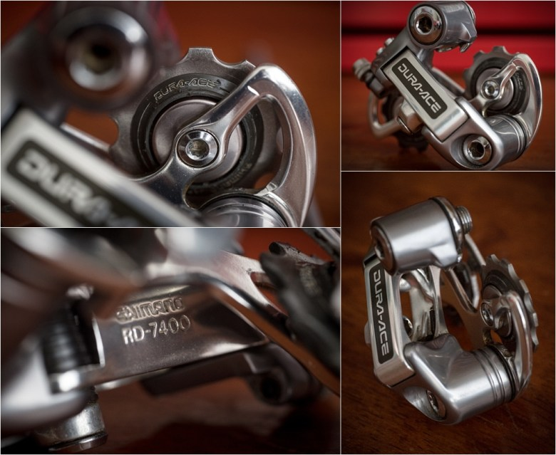 Shimano Dura-Ace 7400 6 Speed Rear Derailleur Details