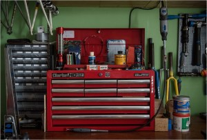 My TI-Raleigh SBDU Workshop Toolbox