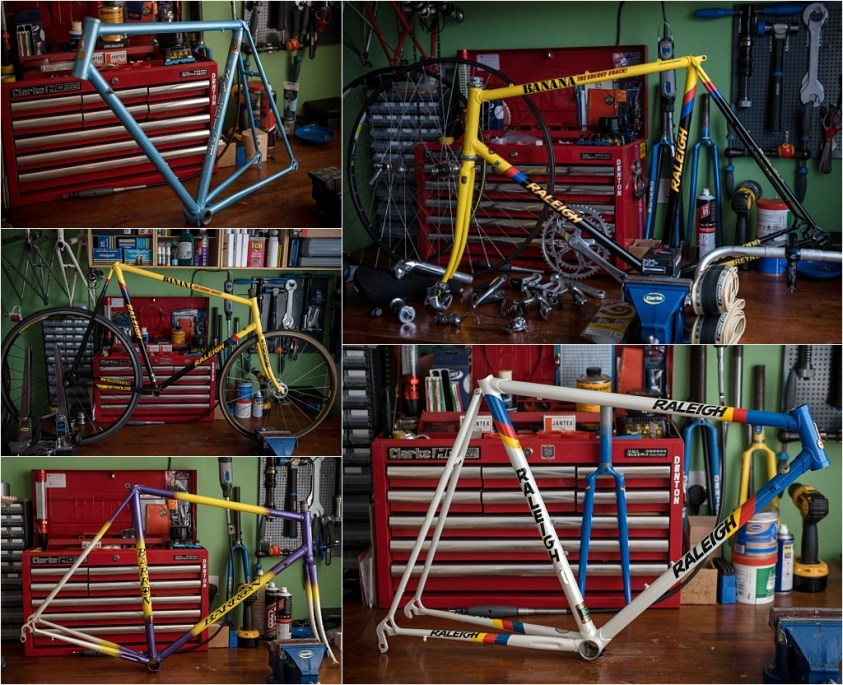 My TI-Raleigh SBDU Nottingham Frame Collection