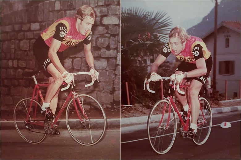 Roy Schuiten 1975 GP Lugano and Grand Prix des Nations Time Trial Bike