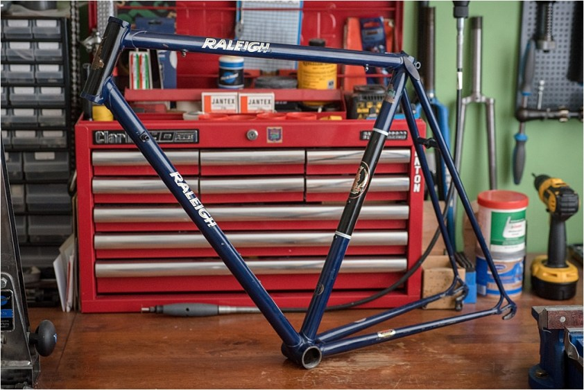 My TI-Raleigh SBDU SB3235 Reynolds 753 1979 Frame Only