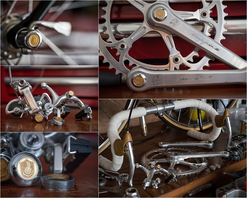 Raleigh SBDU Ilkeston TI-Reynolds 753 Campagnolo Super Record 50th Anniversary Groupset