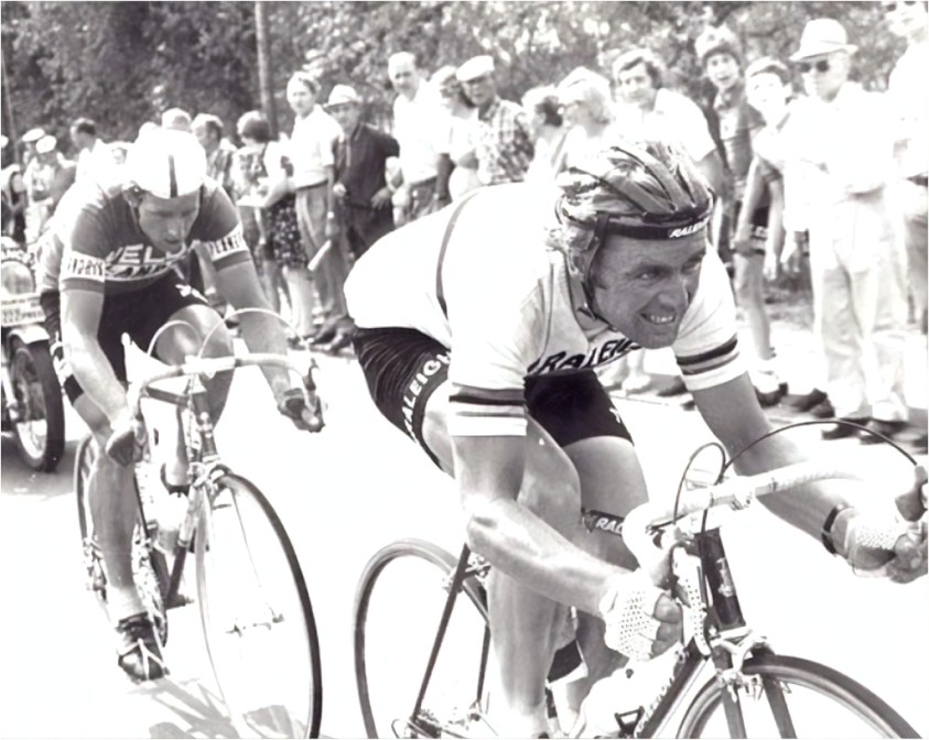 Hennie Kuiper and Eric Loder 1976 Tour de France
