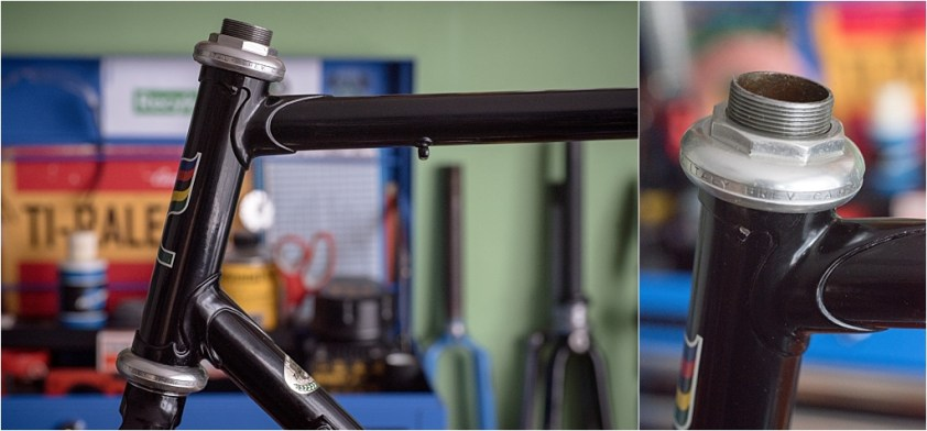 Campagnolo Super Record Headset Almost Fitted