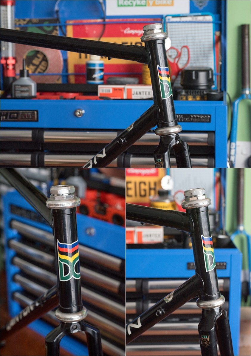 Campagnolo Super Record Headset Fitted