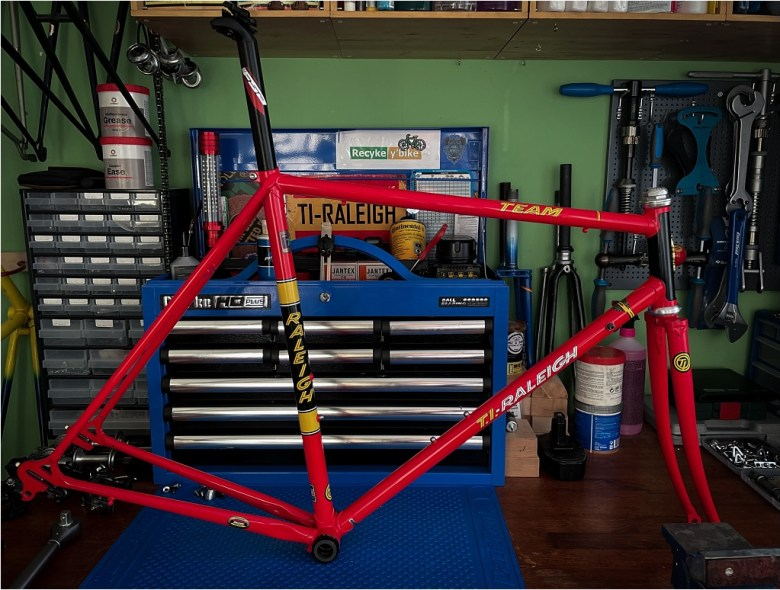 TI-Raleigh Anniversary Edition Build Ready to Build
