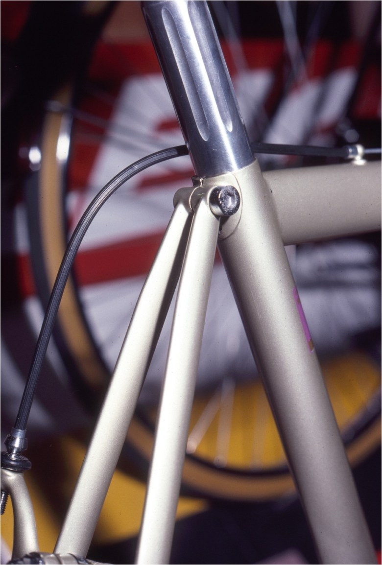1980 NYC Cycle Show Raleigh Dynaflite Seat Stays