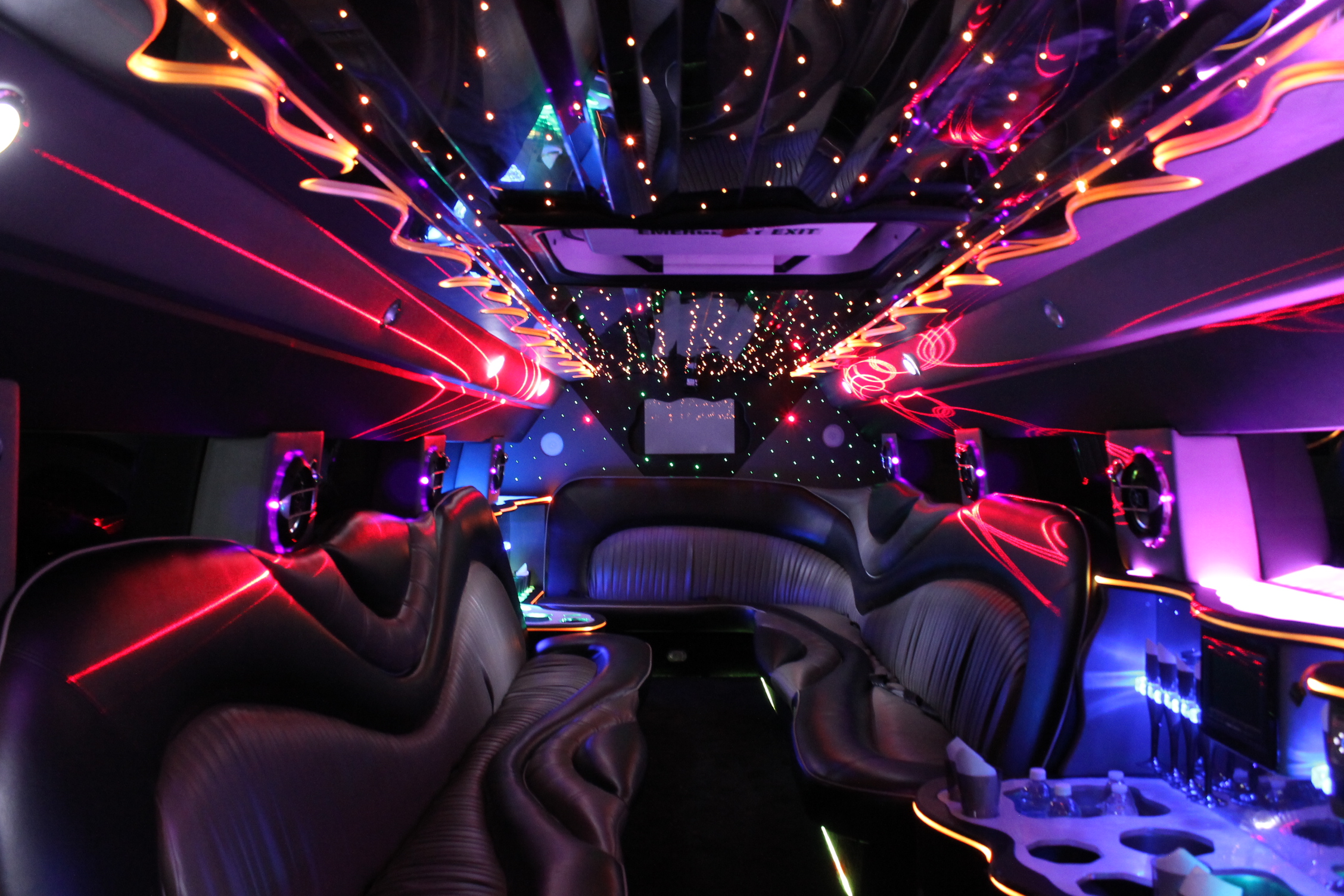 White Tiger H2 Hummer Limo Raleigh Dream Limos