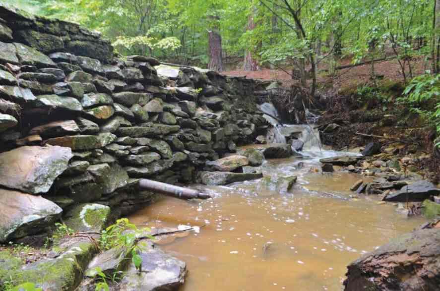 10 - Pott's Branch Dam