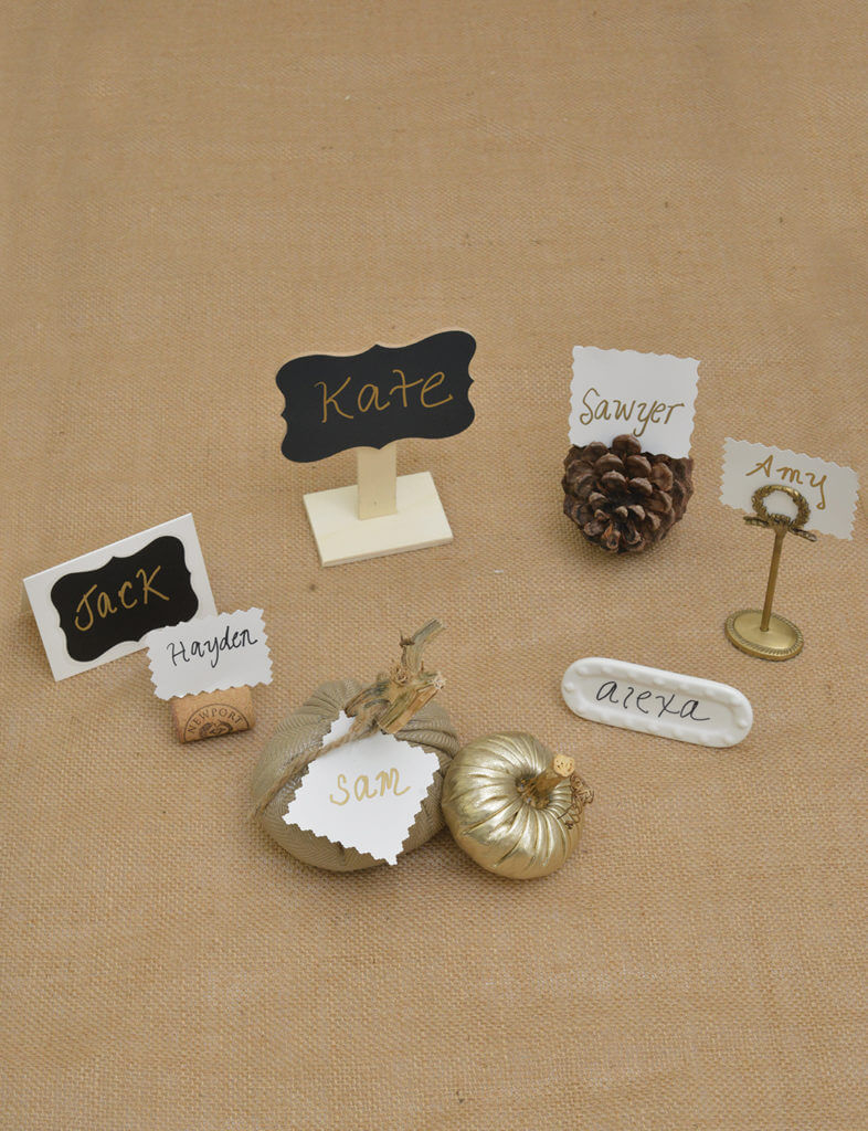 Examples of placecards