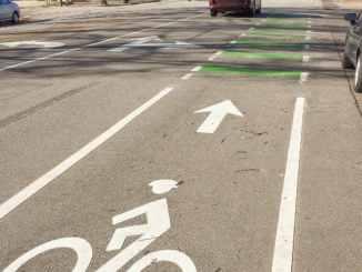 Bike Lane in Raleigh