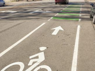 Bike Lane in Raleigh
