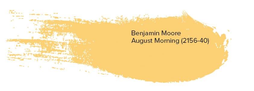 Benjamin Moore August Morning