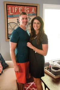 Jason Biggs and Julie Birbilis