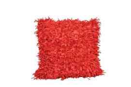 Shaggy textured pillow; $79, Inspirations Raleigh