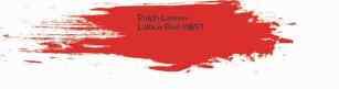 Ralph Lauren Lattice Red #IB57