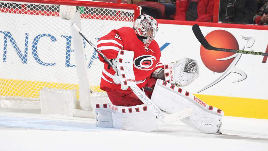Carolina Hurricanes goalie
