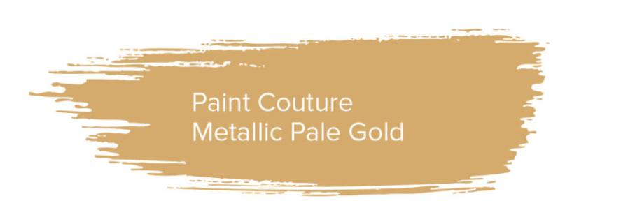 Paint Couture Metallic Pale Gold