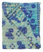 Kantha cotton quilt