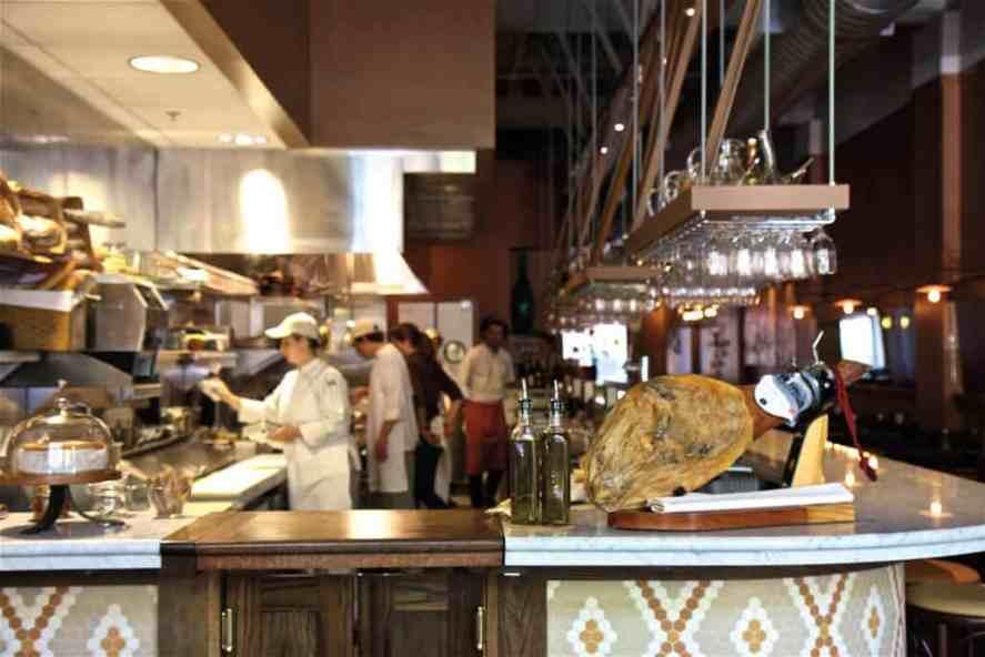 Spanish tapas restaurant Cúrate in Asheville