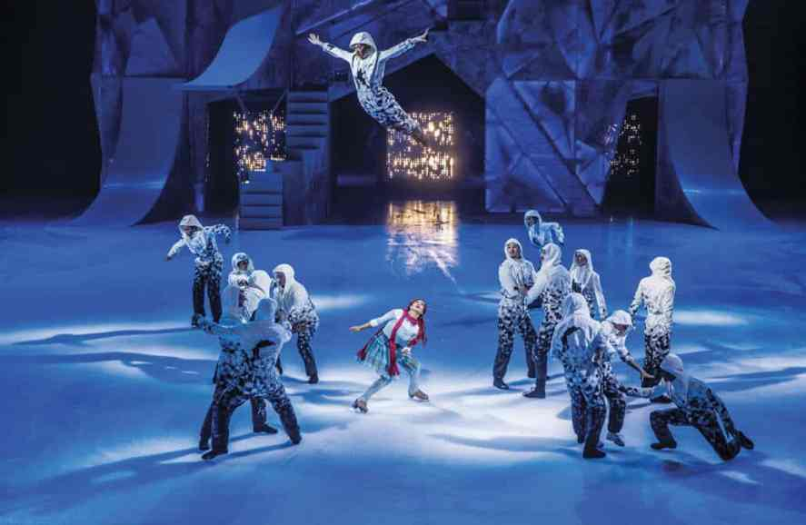 """Crystal"", Cirque du Soleil's first-ever ice experience."