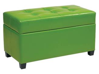 Office Star metro storage ottoman, $94.99; Target