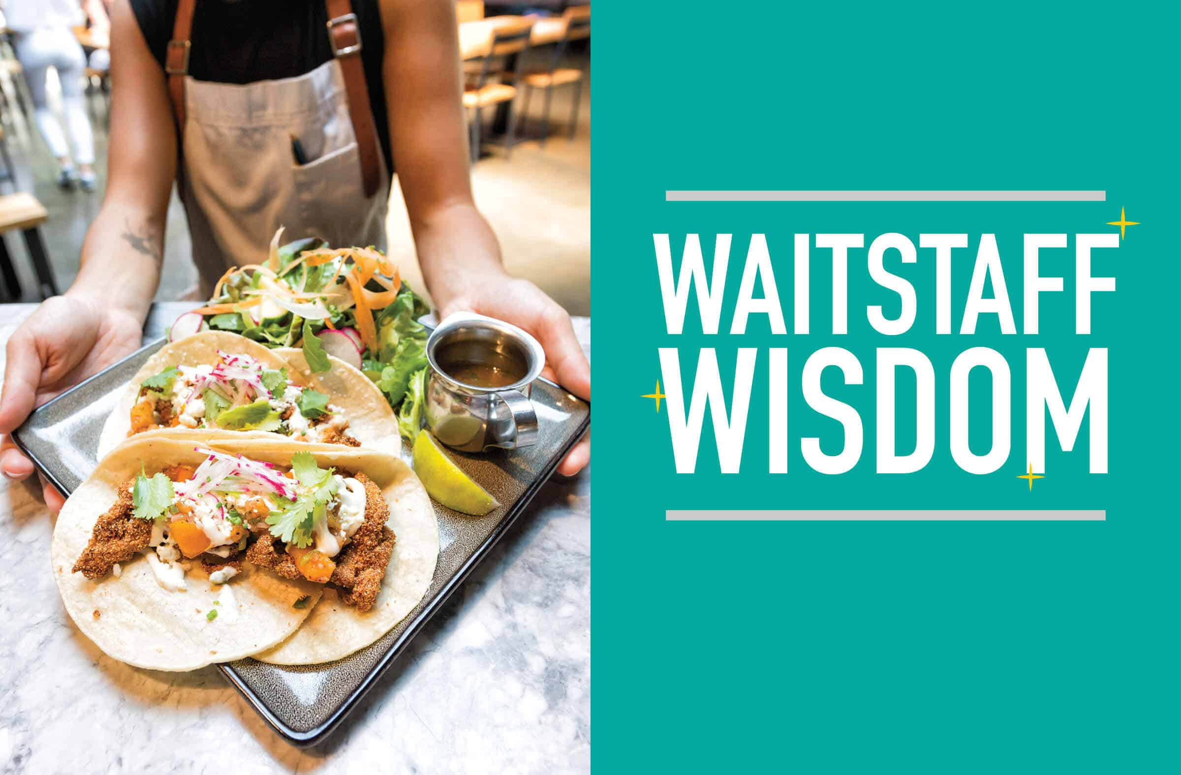 Waitstaff Wisdom   Raleigh Magazine