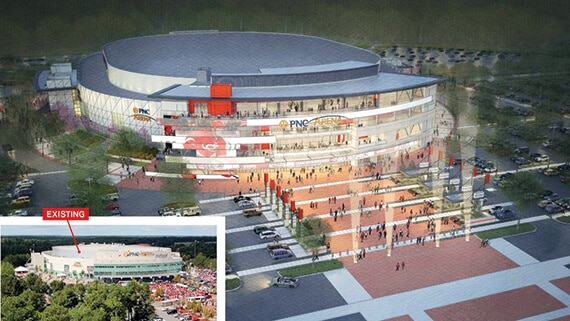 Proposed renovation of PNC Arena