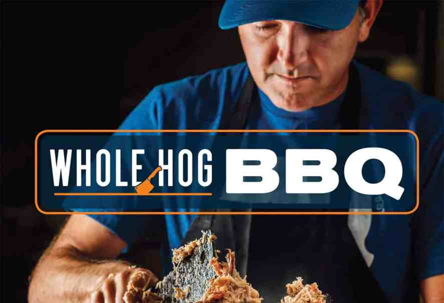Whole Hog BBQ cookbook by renowned pitmaster Sam Jones
